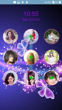 photo pattern lock screen poster