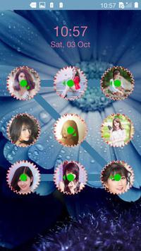 photo pattern lock screen apk screenshot