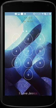 Keypad Lock Screen apk screenshot