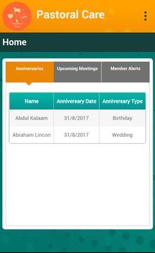 My Pastoral Care screenshot 2