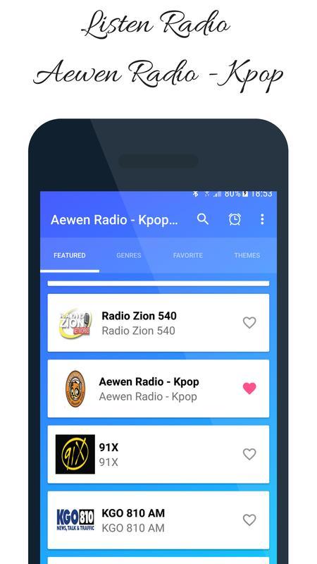 Listen Aewen Radio Kpop Station Music California