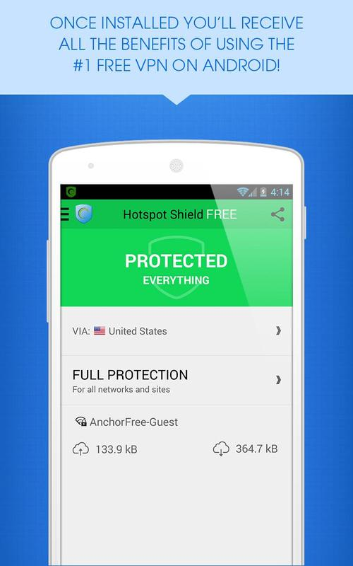 download hotspot shield mobile android