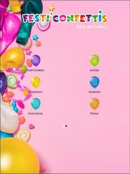 Festi'Confettis Saint Etienne poster
