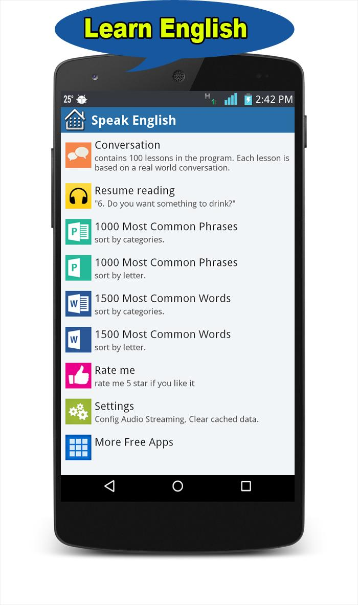 English Learning app for Android - APK Download