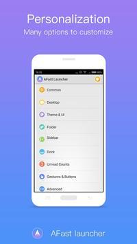 A Launcher - Cool Launcher apk screenshot