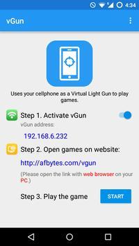 vGun - virtual light gun poster