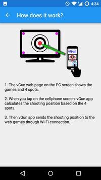 vGun - virtual light gun screenshot 1