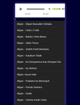 AFGAN  ALBUM TERBARU MP3 apk screenshot