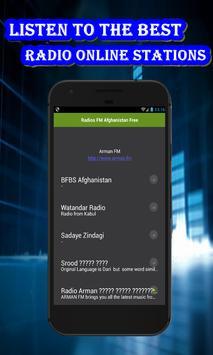 Afghanitan radios online poster