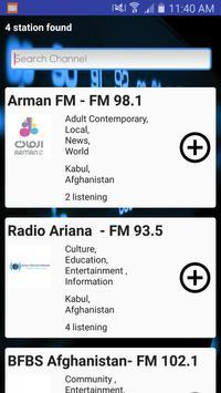 Afghanistan Online Radio screenshot 3