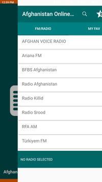 Afghanistan Online FM Radio poster