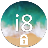 i8 : Phone 8 Lock Screen icon