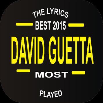 David Guetta Top Lyrics poster