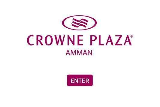 Crowne Plaza Amman Jordan poster