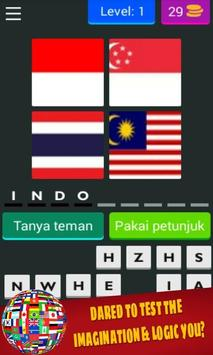 4 Pics 1 Word Free: Flag apk screenshot