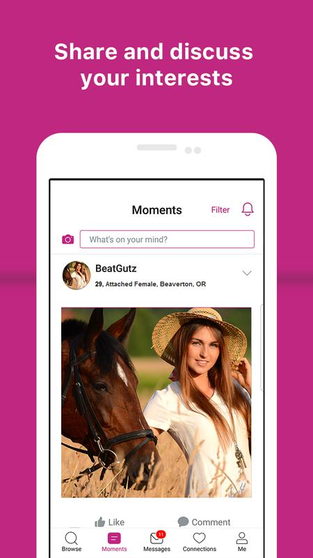 pure dating app on android