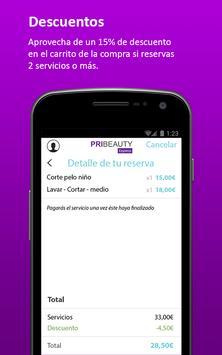 Pribeauty express apk screenshot