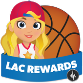 LAC Basketball Louder Rewards icon