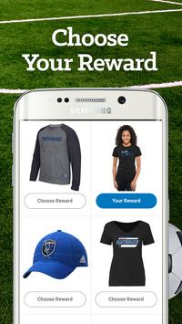San Jose Soccer Louder Rewards apk screenshot