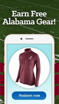Alabama Louder Rewards poster
