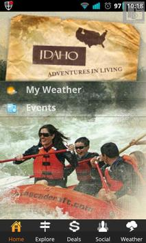 Visit Idaho Travel Guide poster