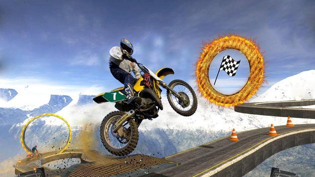 Tricky Bike Stunt Race 3d poster