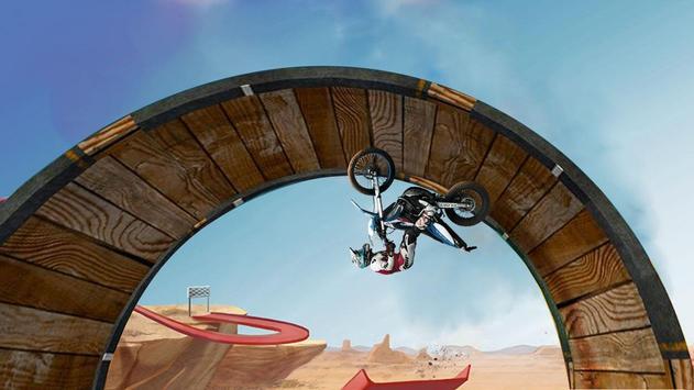 Tricky Bike Stunt Race 3d screenshot 2
