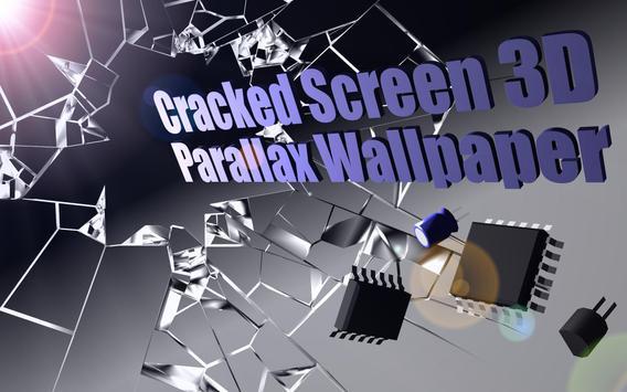 Cracked Screen Gyro 3D Parallax Wallpaper HD apk screenshot