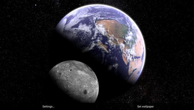 Earth & Moon screenshot 3