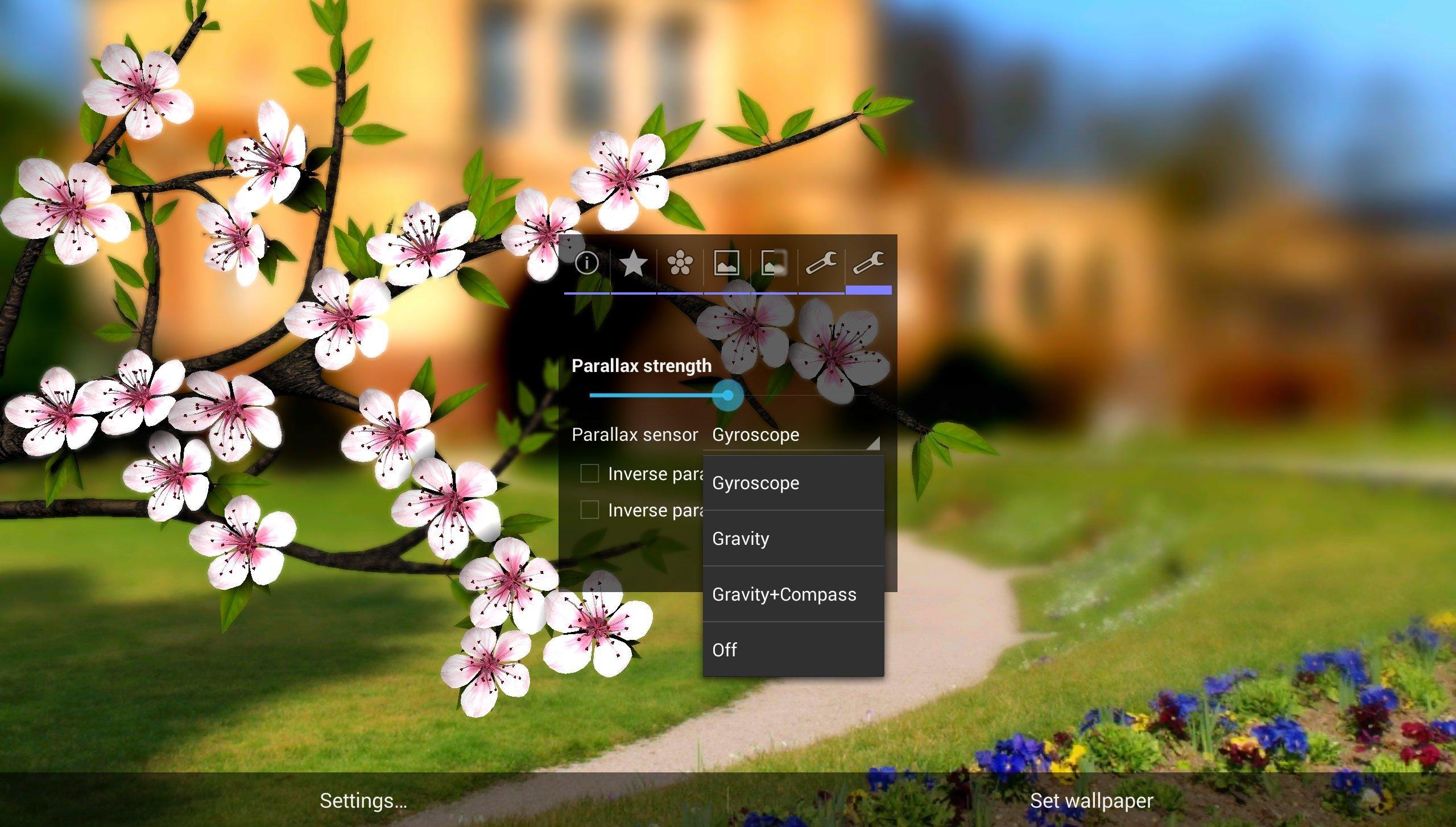 Spring Flowers 3d Parallax Hd Live Wallpaper - Flowers Healthy