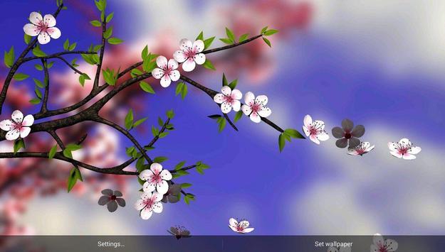 Spring Flowers 3D Parallax HD Apk Screenshot