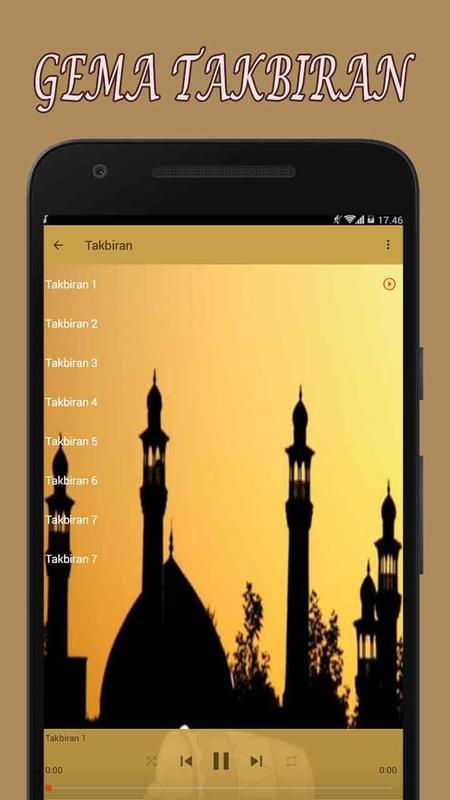 Gema Takbiran Mp3 Nonstop For Android Apk Download