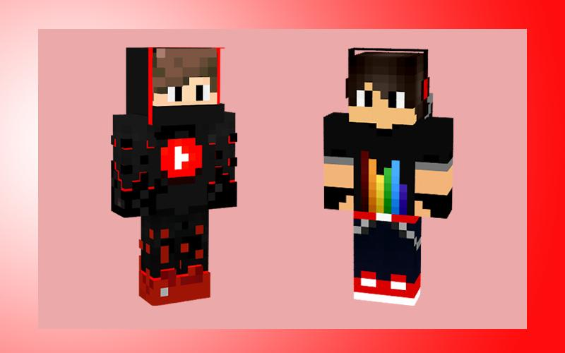 skins minecraft pe download youtube