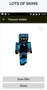 Modern Skin for Minecraft PE screenshot 1