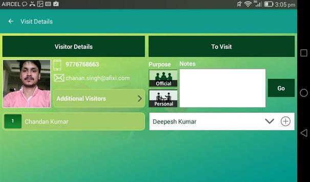 mVisitor - Visitor Management screenshot 9