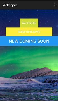 Wallpaper Mi Redmi Note 5 Pro poster