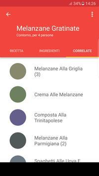 Ricette con ingredienti apk screenshot