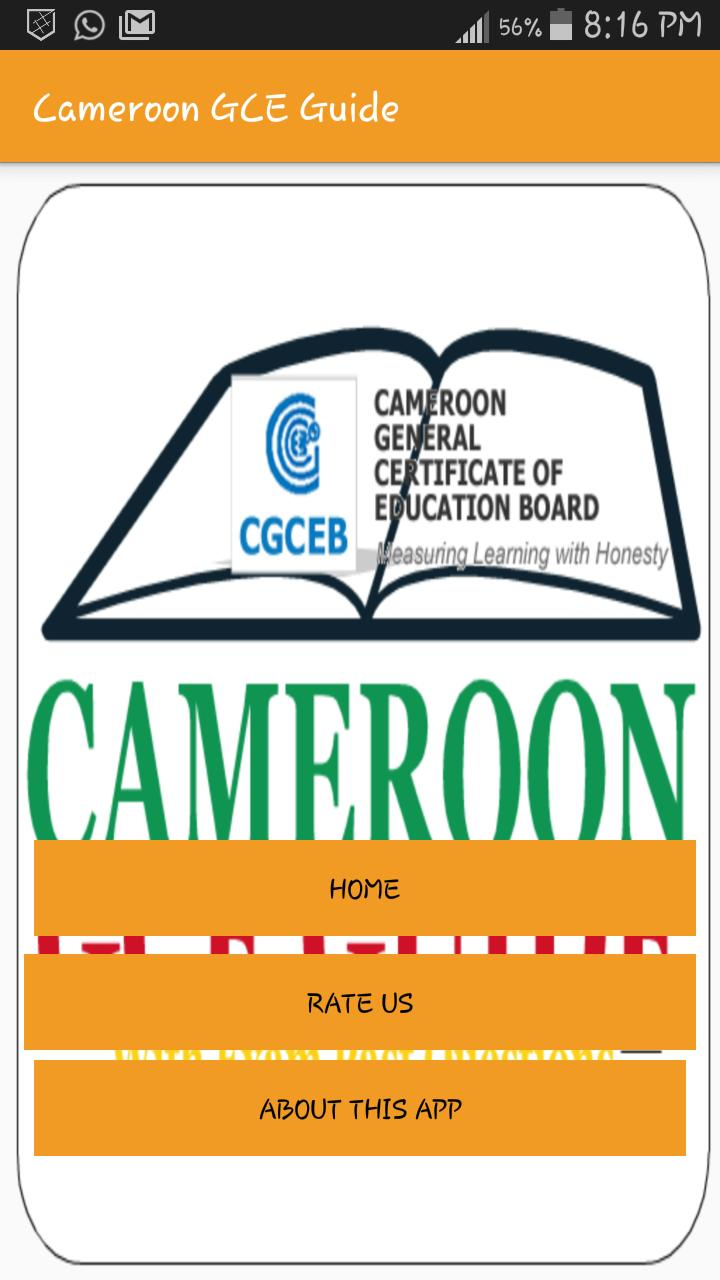 Cameroon GCE Guide for Android - APK Download