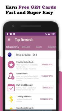 Tap Rewards - Free Gift Cards poster