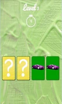 Cars Matching Game screenshot 4