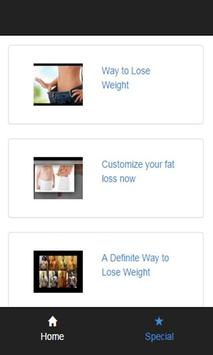 ican lose weight poster