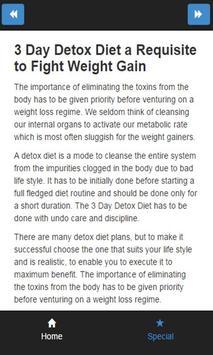 3 day detox diet apk screenshot