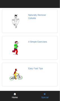 exercises to get rid cellulite apk screenshot