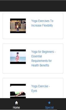 yoga 10 exercises for beginner apk screenshot