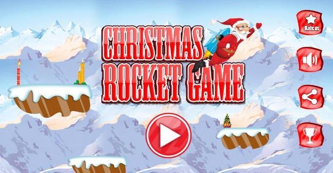 Christmas Rocket Game apk screenshot