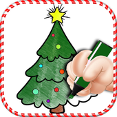 Christmas Tree Coloring Book icon