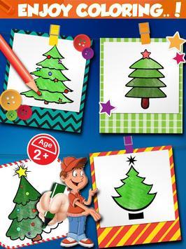 Christmas Tree Coloring Book screenshot 8