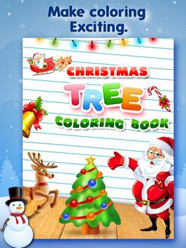Christmas Tree Coloring Book poster