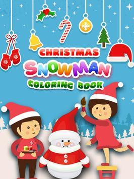 Christmas Snowman Color Book screenshot 1