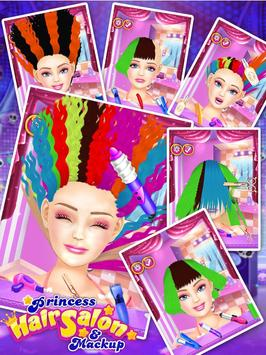 Princess Hair Salon & Makeup apk screenshot